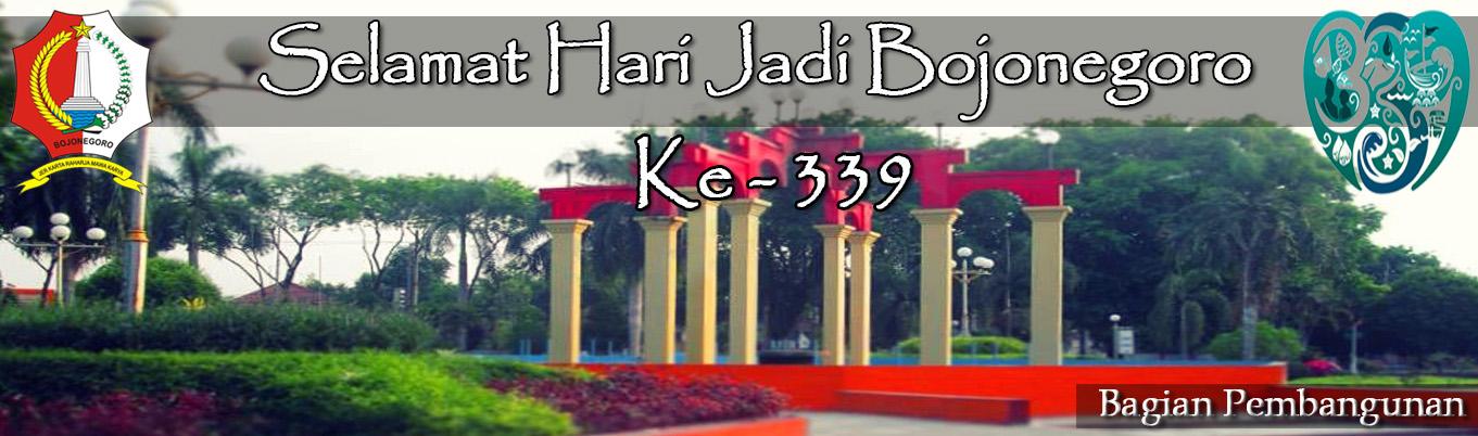Selamat Datang di,<BR>Website Bagian Pembangunan Kab. Bojonegoro
